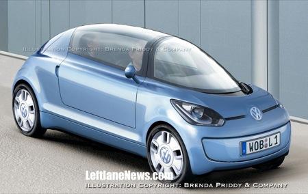 Vehículo que gasta menos de un litro a los 100 km, por Volkswagen en el 2010