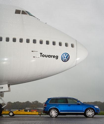 Nuevo Volkswagen Touareg 2007 V10 TDI: puede hasta con un Boeing 747
