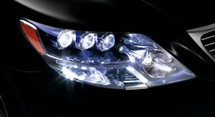 Faros con tecnolog a led luces y sombras tecmovia - Tipos de luces led ...