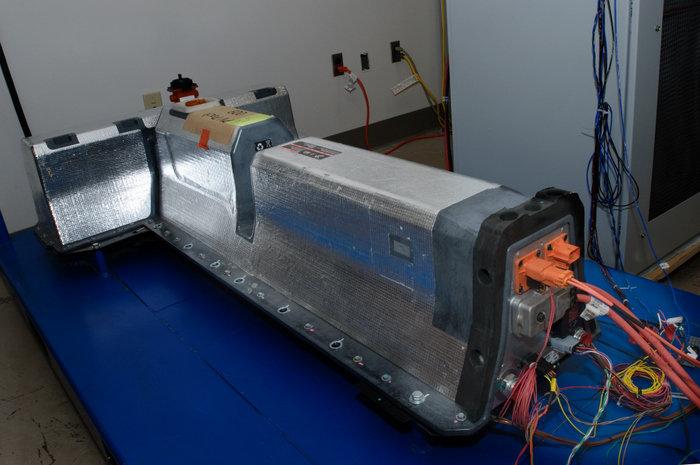Prototipo Baterías de Chevrolet Volt conectadas a la red