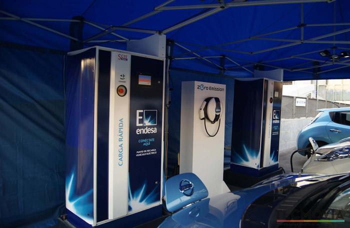 Sistema de recarga Nissan Leaf