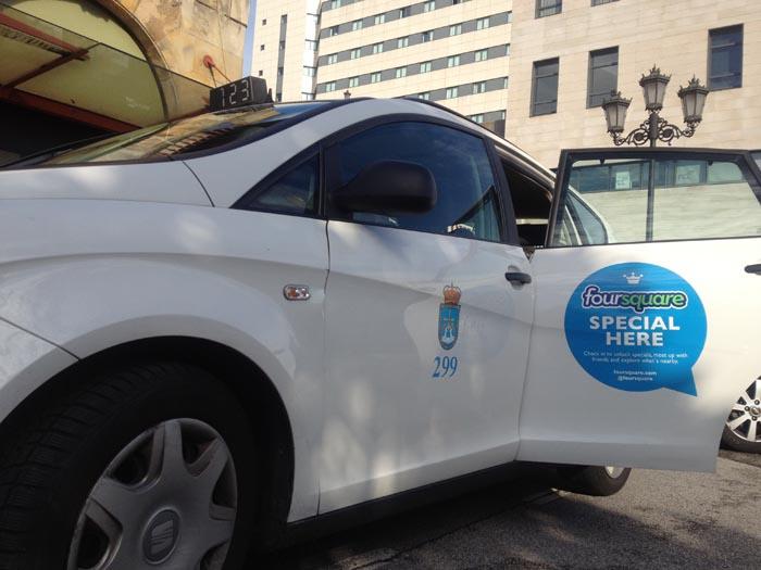 Taxi ecológico Oviedo