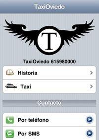 Aplicación de Taxi Oviedo