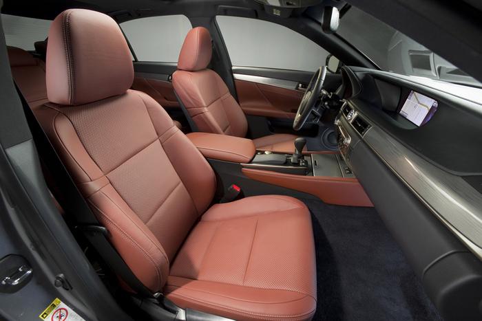 Asientos Lexus GS450 FSport