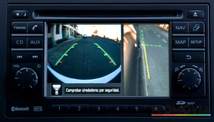 Nissan Qashqai, cámara de visión 360º