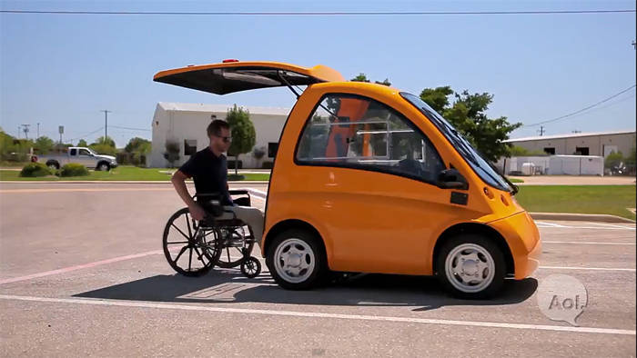 silla de ruedas electrica con volante