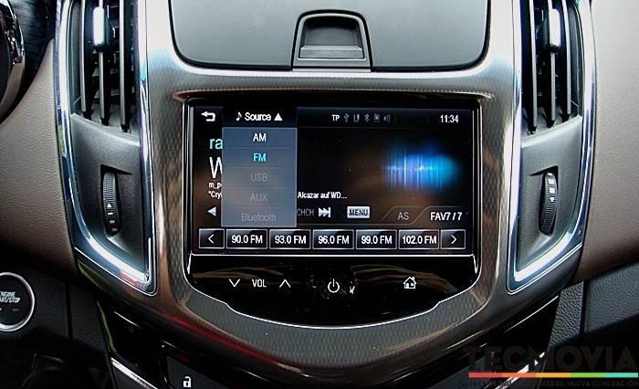 Chevrolet MyLink Prueba en Tecmovia