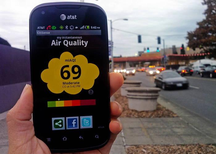Sensor de calidad del aire en nuestro smartphone, ¿Cuánta polución existe en tu ubicación?
