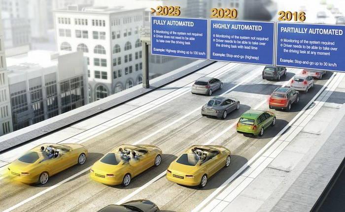 Continental habla de la conducción autónoma como tecnología real para 2025