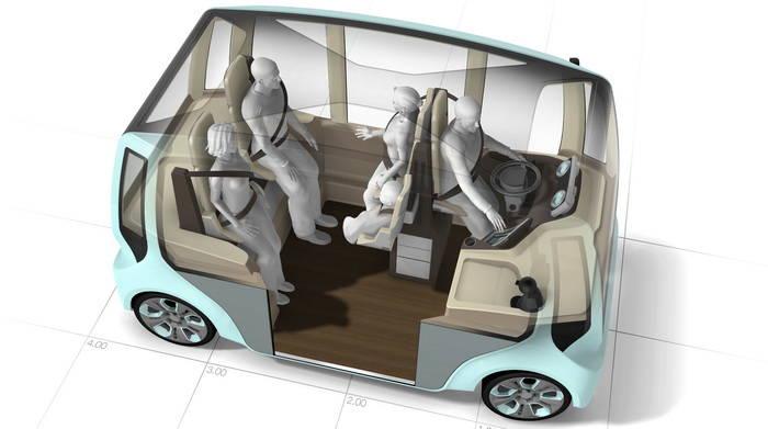 Rinspeed MicroMax, cuando el espacio es lo que más importa en el transporte