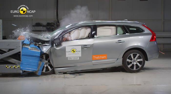 EuroNCAP destaca la seguridad del Volvo V60 Plug-in Hybrid en sus últimos resultados