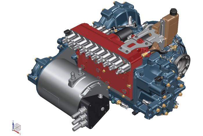 XTRAC desarrolla un cambio manual pilotado híbrido para hablar de altas prestaciones