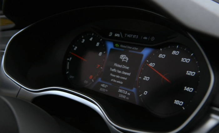 Audi desvela en vídeo el funcionamiento de su sistema de conducción autónoma