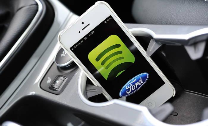 Ford AppLink permitirá acceder a Spotify a través de nuestro smartphone