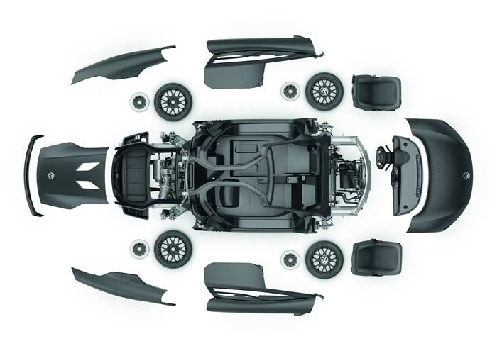¿Qué esconde el Volkswagen XL1 para conseguir 0,9 l/100 Km?