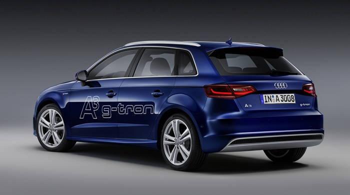 Audi A3 Sportback g-tron: así serán los Audi movidos por e-gas y GNC