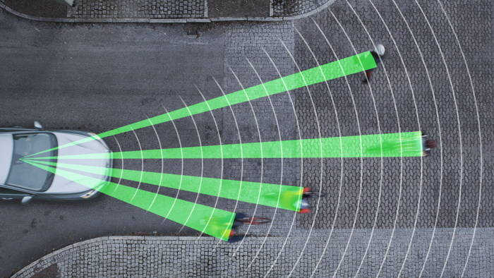 Detección de ciclistas con frenada automática Volvo [Laboratorio Tecmovia]