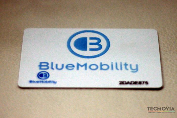 Punto de recarga Bluemobility