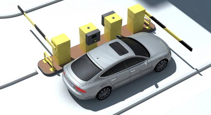 Audi hace que sea el coche el encargado de pagar el coste del aparcamiento