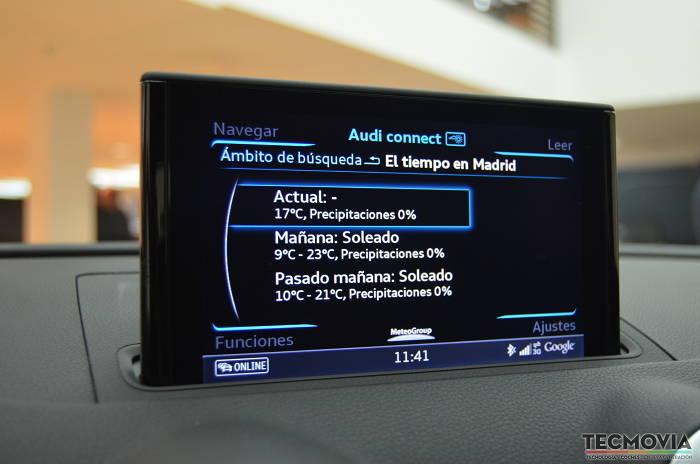 Audi Connect: ponemos a prueba el sistema multimedia del nuevo Audi A3