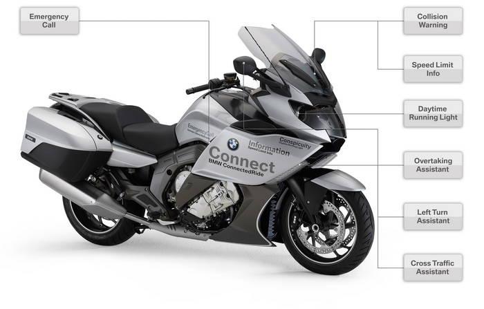 BMW, Honda y Cohda colaborarán en el desarrollo de la comunicación V2V en motcicletas