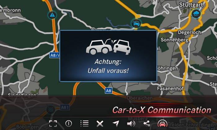 La comunicación Car-to-X llegará a la gama Mercedes-Benz antes de finalizar 2013