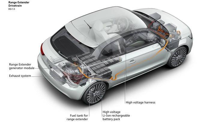 El Audi A1 e-tron recibe una nueva actualización, ya son 80 modelos en circulación