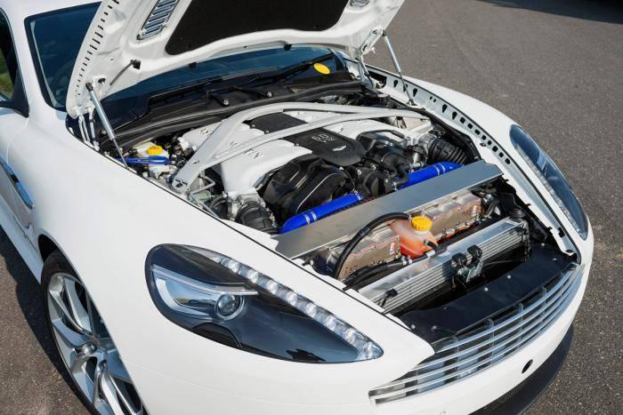 Bosch convierte un Aston Martin DB9 en híbrido enchufable con 750 CV