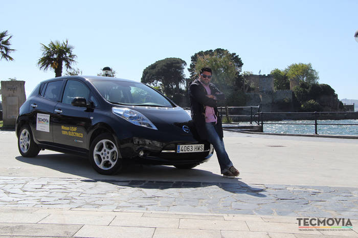 Nissan Leaf Test Day Tecmovia