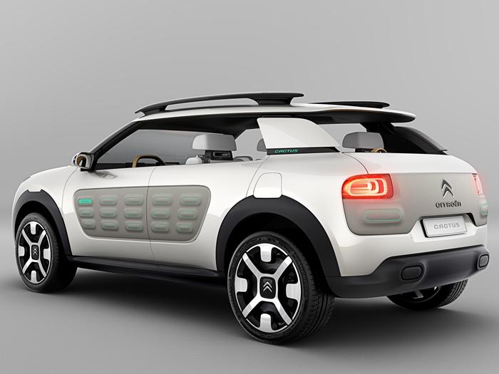 Nuevo Citroën Cactus: tecnología Hybrid Air para descubrir un SUV diferente