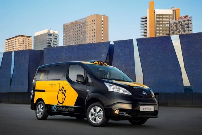 La Nissan e-NV200 se convertirá en el Taxi de Barcelona