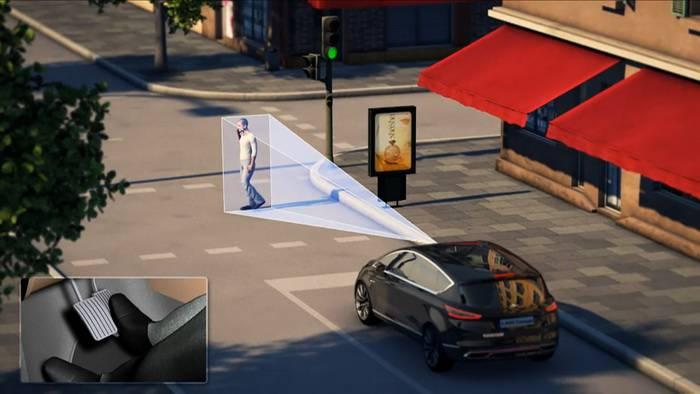 Esquiva Automática de vehículos y peatones desarrollada por Ford [Laboratoria Tecmovia]