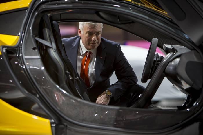 McLaren eliminará los limpiaparabrisas gracias al uso de  Ultrasonidos