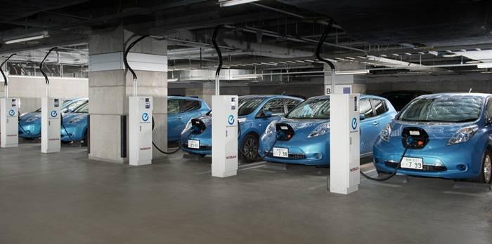 El Nissan Leaf también es capaz de suministrar energía a tu puesto de trabajo