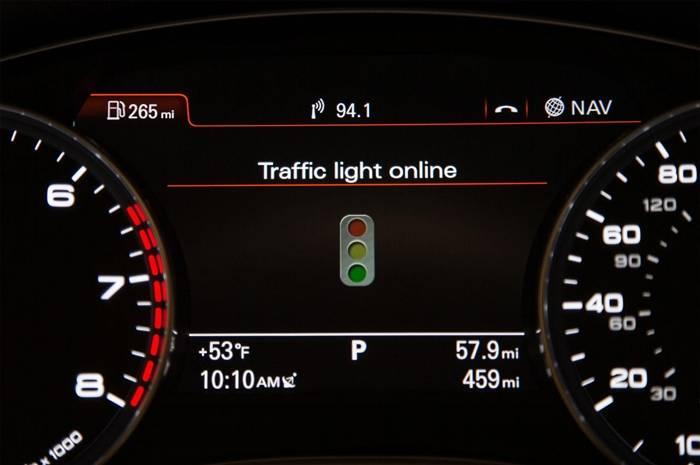 Audi te ayudará a evitar los semáforos en rojo