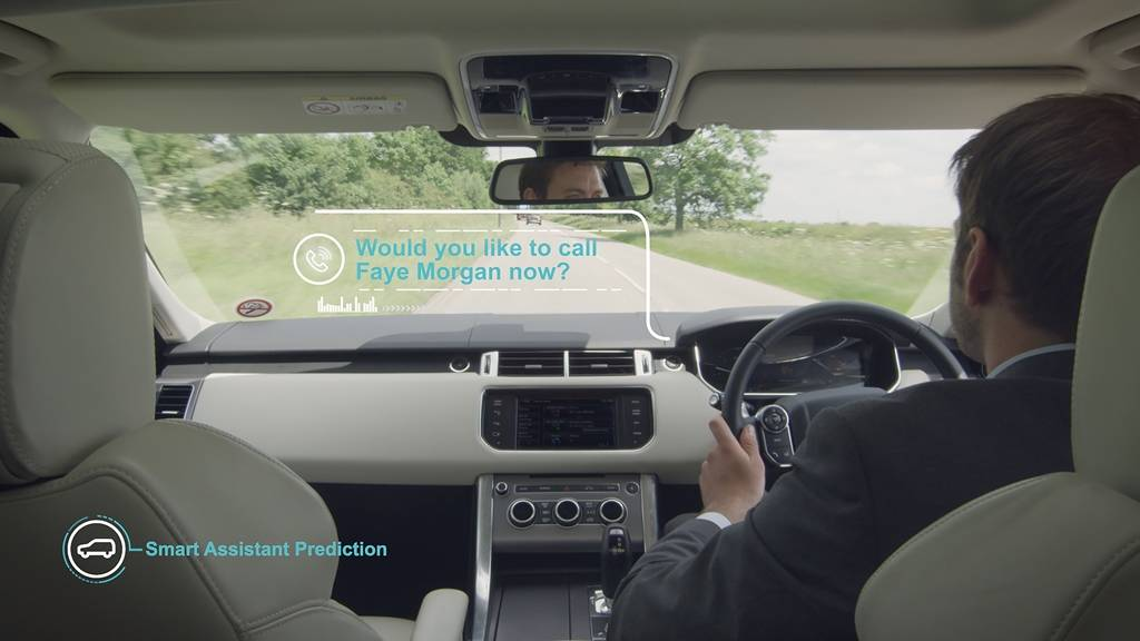 Jaguar Land Rover Smart Assistant