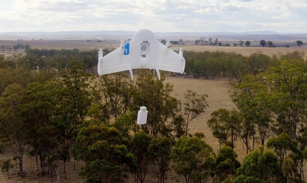 Los Drones se apoderan de los envíos a domicilio