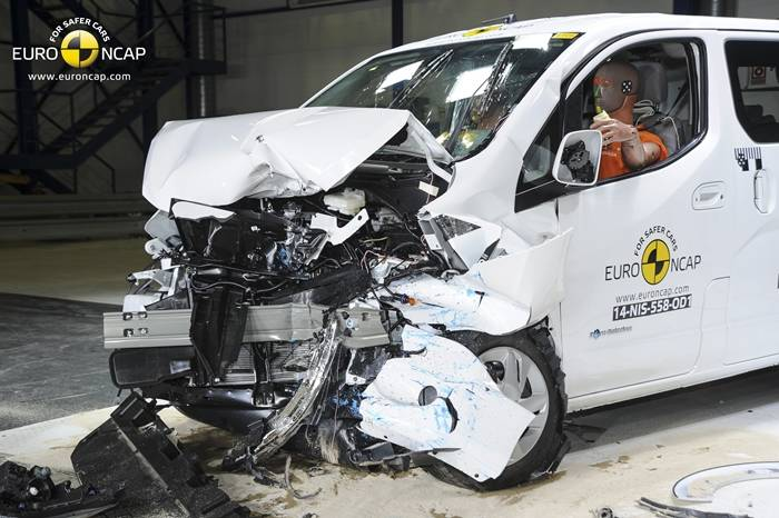 Nissan e-NV200 EuroNCAP