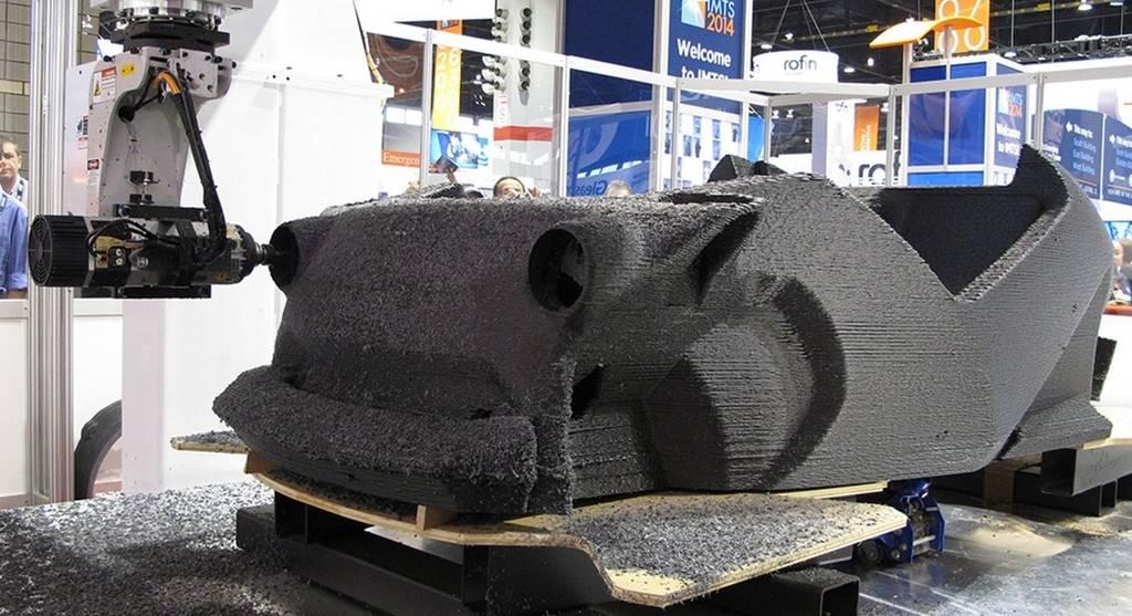 Coches fabricados con impresoras 3d la realidad a la for Construir impresora 3d