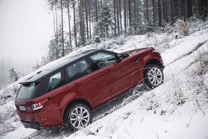 Land Rover All-Terrain Progress Control