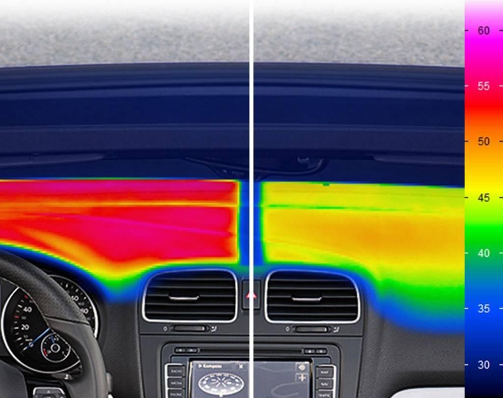 Volkswagen imagen térmica