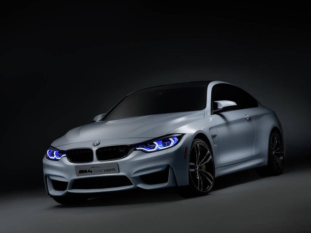 BMW M4 Iconic Lights Láser OLED