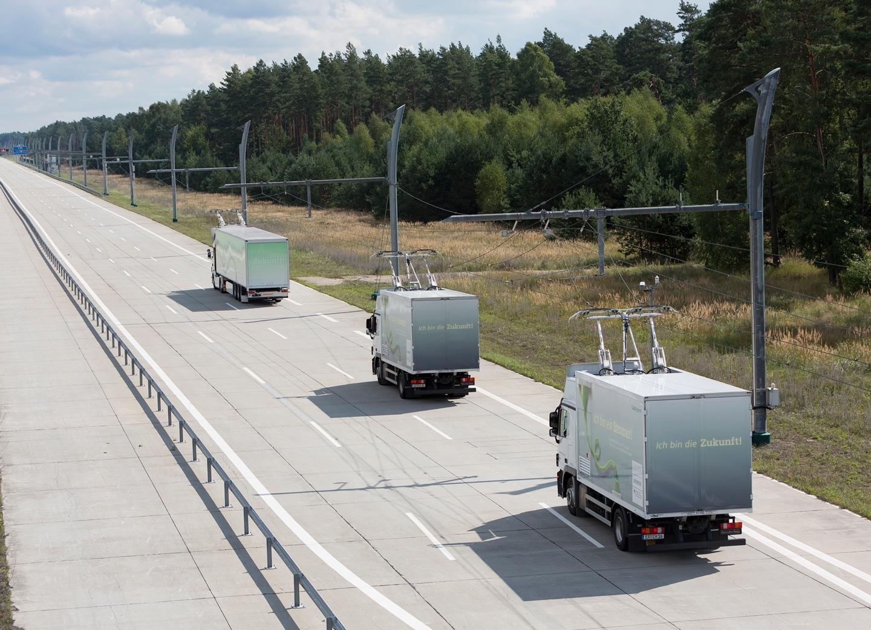 Siemens testet eHighway-System in Kalifornien / Siemens tests eHighway system in California