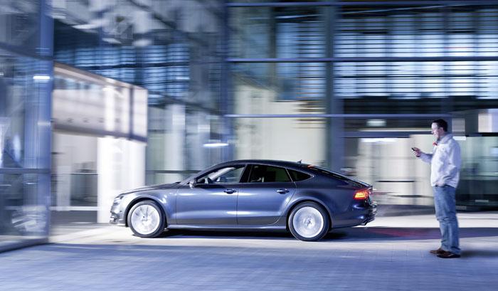 Audi apuesta por un garaje tecnol gico y parking aut nomo for Garage autonomo