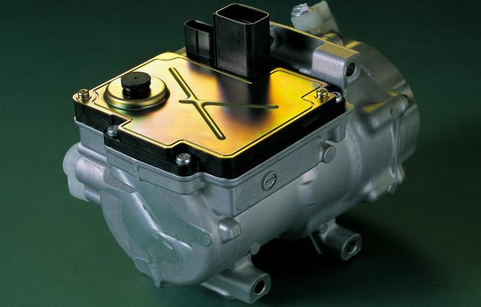 Compresor a c el ctrico denso ptima temperatura con el for Cuanto gasta un aire acondicionado