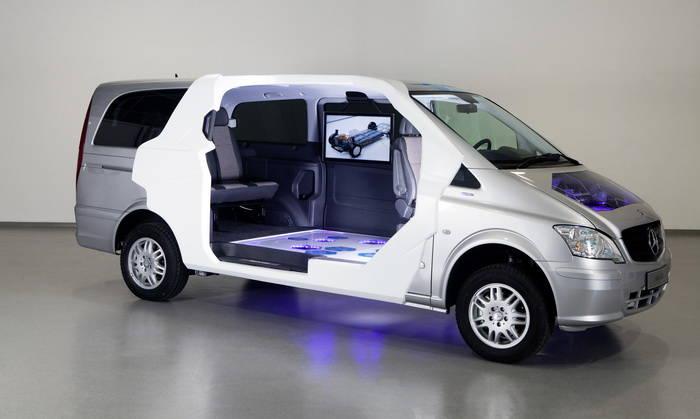 mercedes vito e cell crewbus hasta 7 plazas para la. Black Bedroom Furniture Sets. Home Design Ideas