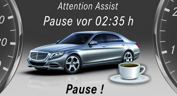 Mercedes attention assist una parada a tiempo que puede for Mercedes benz attention assist