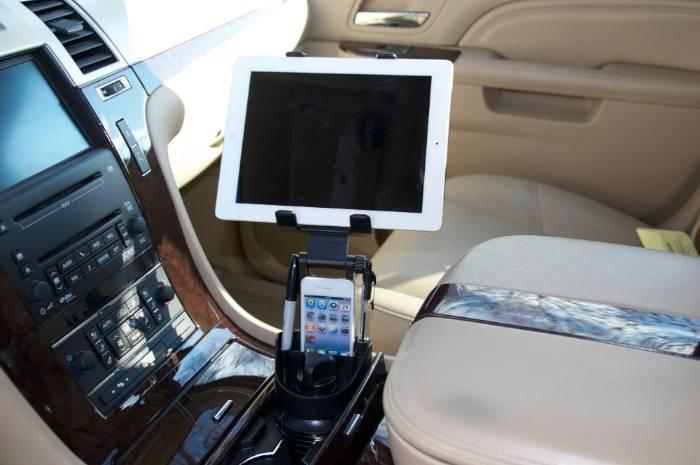 Bracketron Universal Tablet Cup Holder Mount Un Soporte Universal
