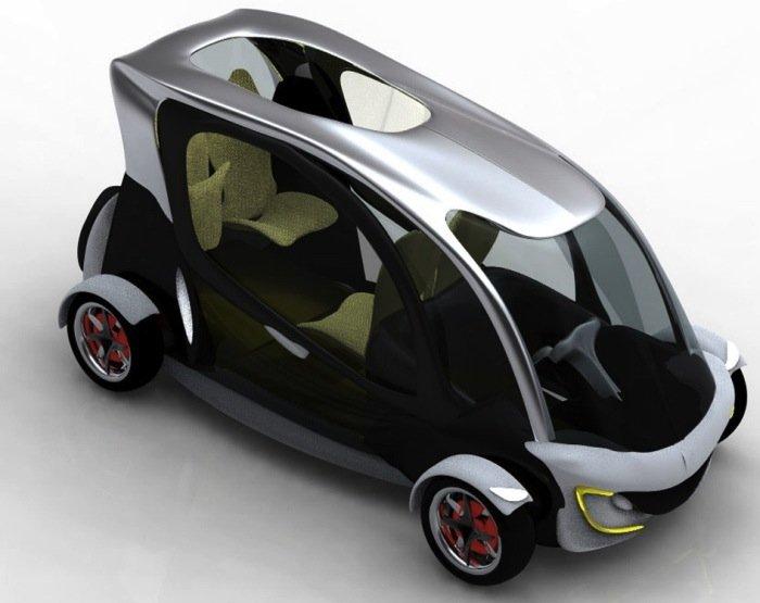 Coche el ctrico pensado para ser conducido por un discapacitado movilidad al m ximo exponente - Sillas ruedas electricas usadas ...