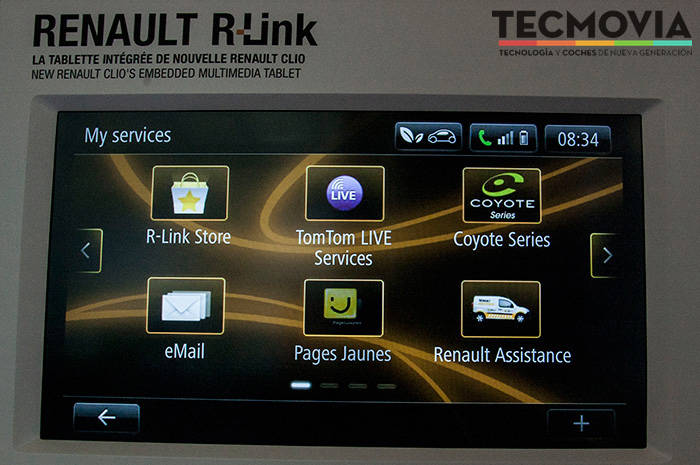 as funcionar el sistema r link de renault y su tienda de aplicaciones r link store tecmovia. Black Bedroom Furniture Sets. Home Design Ideas